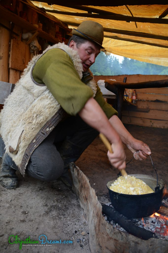 Cooking at the sheepfold