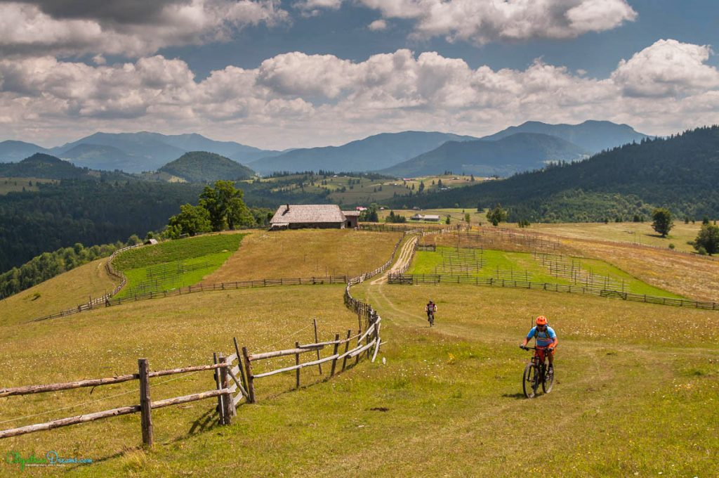 mountain bike riding in eastern europe