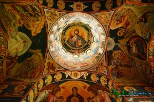 5b. Paintings into an Orthodox monastery