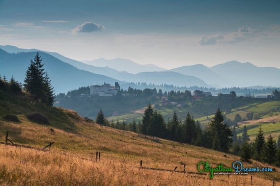 Borgo Pass in the Carpathians