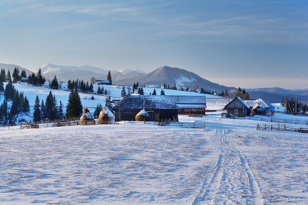 Winter in the Carpathians